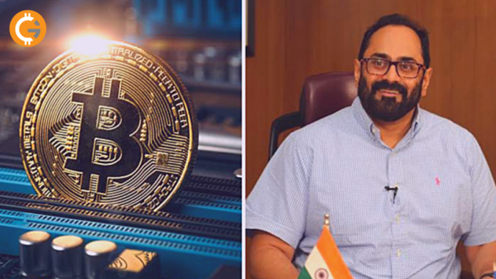 Bengaluru based MP Rajeev Chandrasekhar agrees to hear about Cryptocurrency