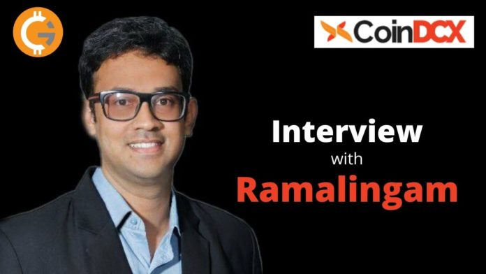 Exclusive Interview with Ramalingam Subramanian, Head of Brand and Communications, CoinDCX
