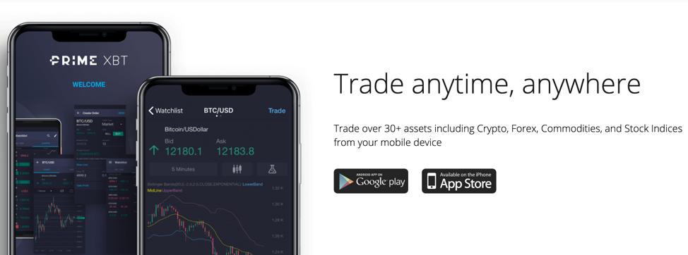 Prime XBT Mobile App