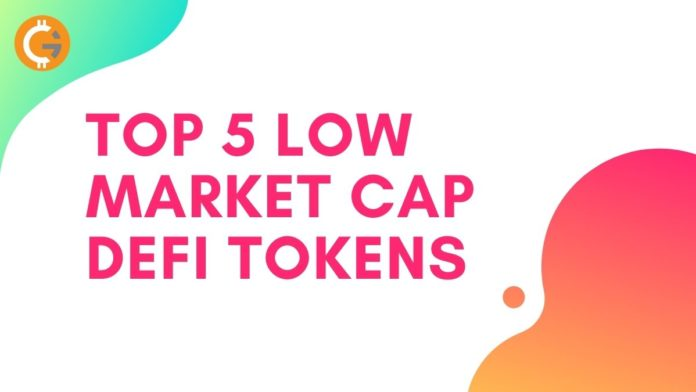 Top 5 Low Market Cap DeFi Tokens