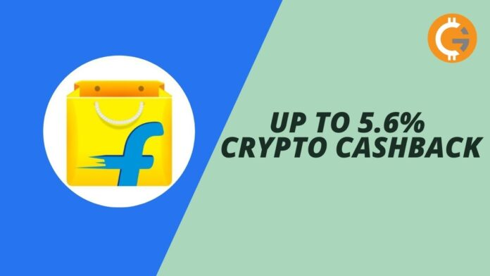 Indians can now shop on Flipkart to earn crypto cashback