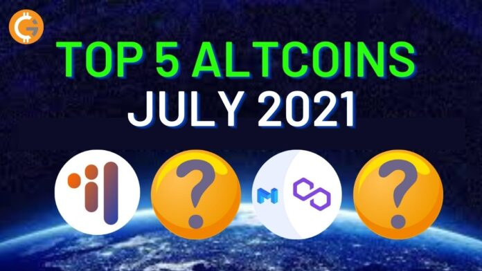 Top 5 Altcoins for July 2021